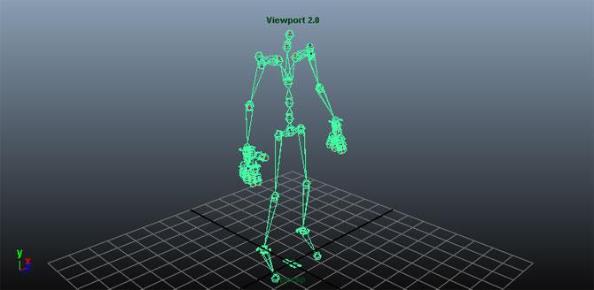 UDK Skeleton
