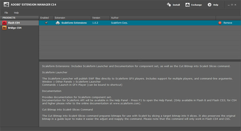 how to run adobe extension manager