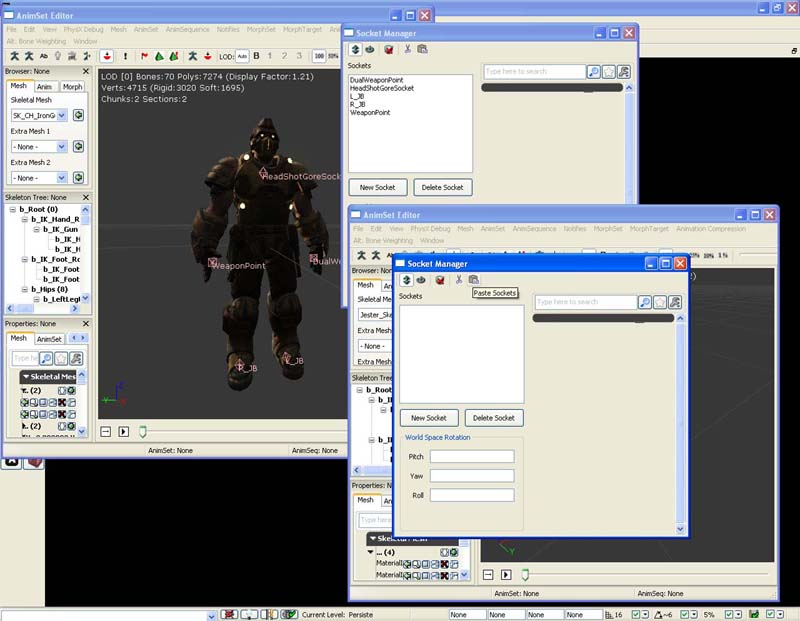 how to open cascade in udk