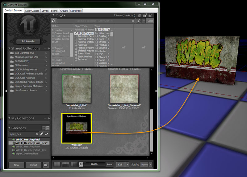 how to delete material slot unreal engine