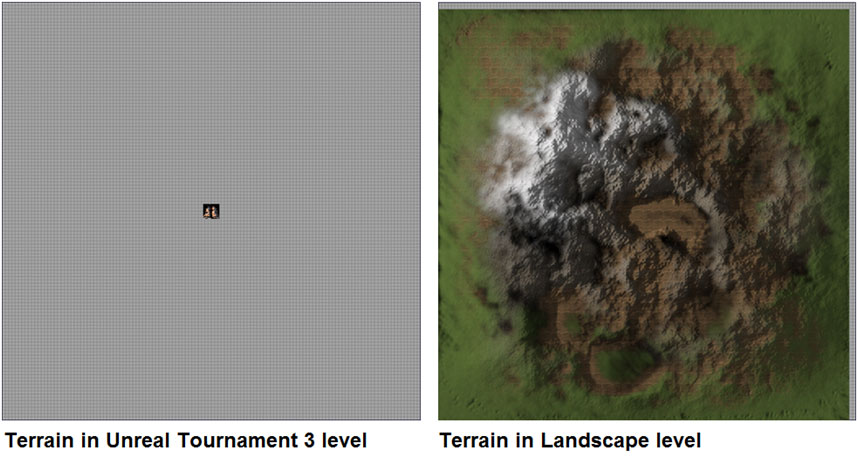 Unreal engine 4 - 3d terrain material with world texture normals
