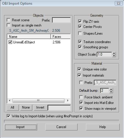 how to change mesh optimacy unreal engine